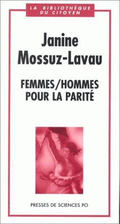"The books that inspired Rainbow Murray: ""I still cite 'Femmes/Hommes pour la parité' by Janine Mossuz-Lavau in much of my writing""  Read the latest academic inspiration story at http://blogs.lse.ac.uk/lsereviewofbooks/2012/09/30/academic-inspiration-rainbow-murray/"