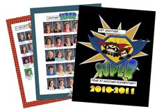 superhero yearbook examples | Yearbook Themes | Why They Work For You.