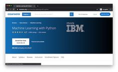 Take the Best Machine Learning Courses online. Machine Learning is a subset of Artificial Intelligence that uses statistical models to perform tasks. Ml Algorithms, Machine Learning Course, Learn Robotics, Mathematical Model, Course Review, Best Online Courses, Learning Techniques, Learning Courses, Deep Learning