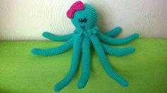 Crochet amigurumi Octopus by JustynaCrochet on Etsy