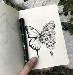 Our Website is the greatest collection of tattoos designs and artists. Find Inspirations for your next Tattoo . Search for more Butterfly Tattoo designs. Trendy Tattoos, Cute Tattoos, Flower Tattoos, Body Art Tattoos, Tattoos For Women, Tattoos For Guys, Butterfly Tattoos, Tattoo Ideas Flower, Tatoos