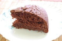Quite simple and delicious cocoa cake! Top it with chocolate sauce and it is heaven!!