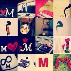 M for Melinda F Alphabet, Alphabet Letters Design, Alphabet Images, Alphabet Stencils, Love Letters, Zodiac Signs Chart, Stylish Letters, Happy Birthday Video, Stylish Alphabets