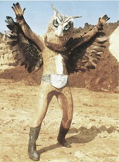 Owlman costume