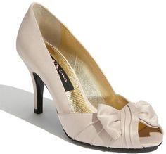 ShopStyle: Nina 'Forbes' Peep Toe Pump