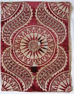 period and some non period textile examples - ottoman