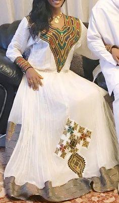 62 Best Habesha Clothes Images Ethiopian Dress Ethiopian