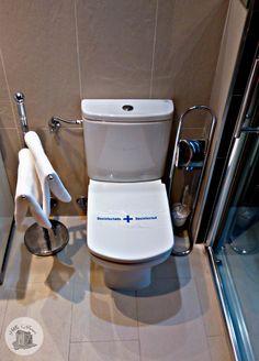 Destalle 🚾  Precinto WC Baño limpio y desinfectado