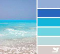 surf hues color palette from Design Seeds