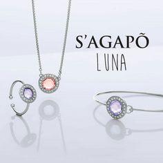 Ecco la nuova collezione #Luna di S'AGAPÕ GIOIELLI  ... per Natale vi aspettano tantissime novità e promozioni.  - LA BARBERA GIOIELLI⌚💍👑