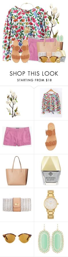 This is me!! Do I look fake to yall? by flroasburn ❤ liked on Polyvore featuring J.Crew, Jack Rogers, Kate Spade, Kendra Scott and Ray-Ban