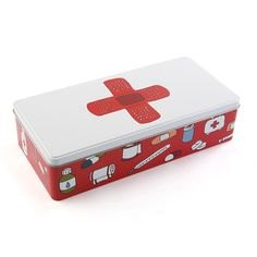 Caja de metal para medicamentos #caja #bañe #casa #versa | Metal box for medicines #box #bathroom #home #versa