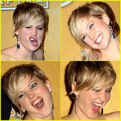 Day 20. My Fave Actress: Jennifer Lawrence, she totally cool with just being herself. I also love Drew Barrymore