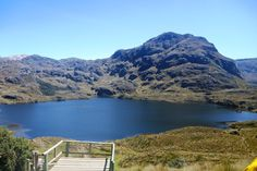 National Park El Cajas, Azuay - Ecuador with over 200 lagoons all over the park, the highest altitude found here is 4450 meters above sea level. http://www.cajaspark.com/