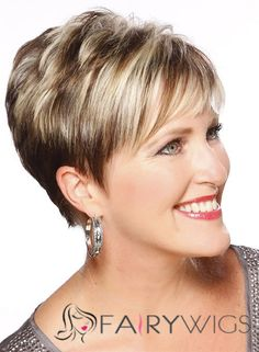 Straight Capless Short Remy Hair Wigs