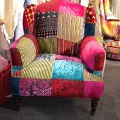 Patchwork chair....