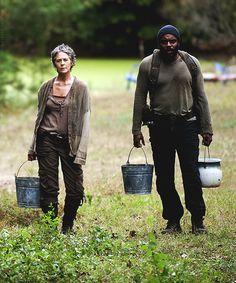 "Carol & Tyreese 4x14 ""The Grove"""