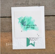 Stampin' Dolce: Playing with the new in colors - Artisan Design Team Blog Hop
