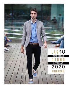 FASHION WORK : ¡10 TENDENCIAS HOMBRE OTOÑO -INVIERNO 2020! Blazers, Jumpsuit, Mens Fashion, Denim, Baggy Shirts, Jackets, Formal Suits, Cargo Pants, Graphic T Shirts