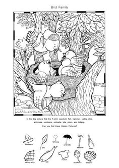 Hidden Pictures Printables, Hidden Picture Puzzles, I Spy Games, Indoor Games For Kids, Barbie Coloring Pages, Holiday Games, Teacher Assistant, Hidden Objects, Worksheets For Kids
