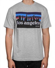 Acrylick - LA Skyline T-Shirt (Grey) - $26