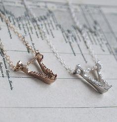 Bat Jaw Necklace by Erica Weiner
