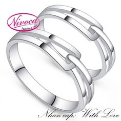 Nhẫn Cặp With Love - Rings couple  With Love