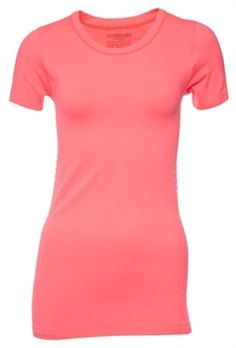 Pure Lime Seamless T-shirt volcano red - great colour!
