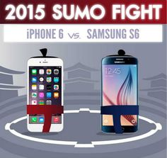 Infografía: iPhone 6 VS Samsung Galaxy S6
