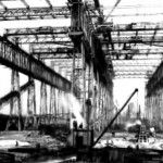 Titanic & Olympic Arrol Gantry