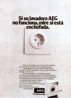 Lavadoras AEG, 1978