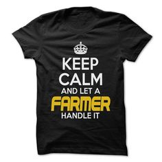Keep Calm And Let FARMER Handle It T-Shirts, Hoodies, Sweatshirts, Tee Shirts (22.25$ ==► Shopping Now!)