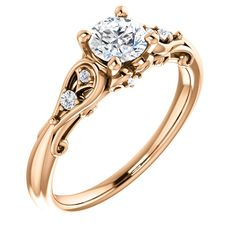Available in Rose,Yellow ,White gold and Platinum. Wedding Engagement, Diamond Engagement Rings, Wedding Rings, Resin Ring, Rings Online, Shank, Her Style, Vintage Rings, White Gold
