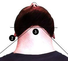 Die Konturen eines Vollbartes rasieren unten