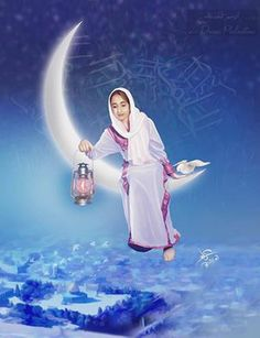 كل عام وانتم بألف خير   ..    Happy Ramadan.. May Allah Bless You - By Artist Imad Abu Shtayyah .. صفحه الفنان : عماد ابو اشتيه .. —