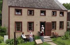 Cossit House Museum - Sydney, Cape Breton Island House built in 1787