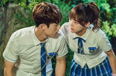 "Kim Sejeong And Kim Jung Hyun's Cute Love Story Unfolds On ""School School2017 Kdrama, Kdrama Actors, Kim Joong Hyun, Jung Hyun, Kim Sejeong, Kim Jung, Cute Love Stories, Love Story, Kim Book"