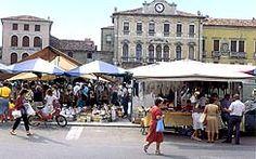 Outdoor Food & Antique Markets in Veneto - schedules