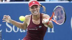 22Aug2016 Angelique Kerber loses to Karolina Pliskova in Cincinnati Open final - BBC Sport