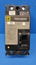 Square D FHL26040 40A Thermal-Magnetic Circuit Breaker FHL-26040 FAL S2 40 Amp (MM0883-18)