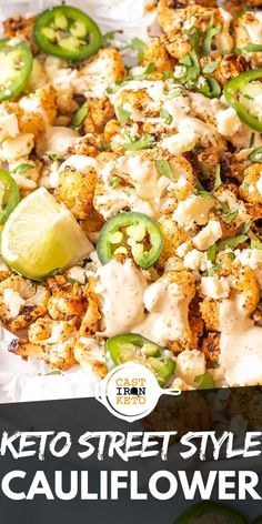 Keto Street Style Cauliflower