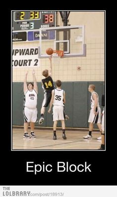 so this is us when we play basketball.....