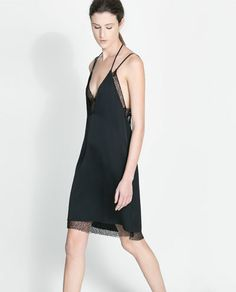 ZARA - WOMAN - STUDIO MESH DRESS
