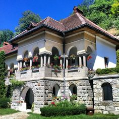 Turnu Monastery #Romania Bucharest Romania, Moldova, Spiritual Life, Old Things, House Design, Traditional, Mansions, Architecture, House Styles