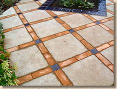 banded stack bond-Just terrible colours but I like the pattern. 2019 banded stack bond-Just terrible colours but I like the pattern. The post banded stack bond-Just terrible colours but I like the pattern. 2019 appeared first on Patio Diy. Garden Pavers, Patio Slabs, Concrete Pavers, Potager Garden, Diy Patio, Backyard Patio, Sainte Sophie, Paving Pattern, Paver Designs