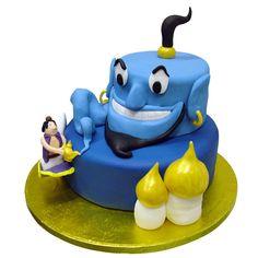 Pin Aladdin Genie Cake cake picture to pinterest.