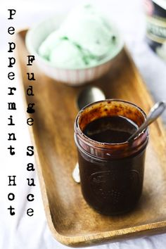 Peppermint Hot Fudge Sauce. Use this to make the ultimate Peppermint Mocha!