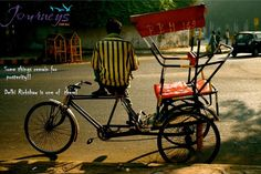 If you are an explorer at heart, then hopping on a rickshaw in the lanes of Old Delhi can be a memorable experience for you. Take a ride on rickshaw with #JFA
