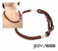 Asymmetric necklace 1 made by JENA