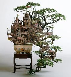 Bonsai Fairie Tree House